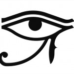 7361646 - eye of horus symbol of the egyptian god horus, hieroglyph